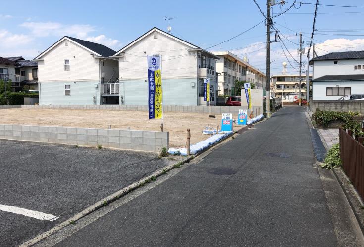 カーサ・ヴェルディ桜尾3丁目/土地
