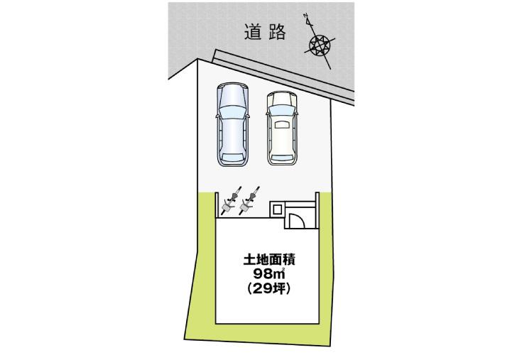 カーサ・ヴェルディ東野2丁目【第2現地】