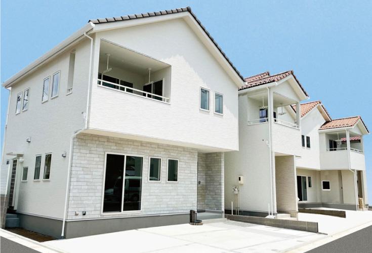 広島市安佐南区長束3丁目42新築一戸建て分譲住宅外観