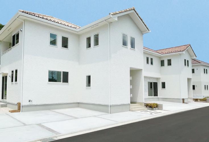 広島市安佐北区可部8丁目22新築一戸建て分譲住宅外観