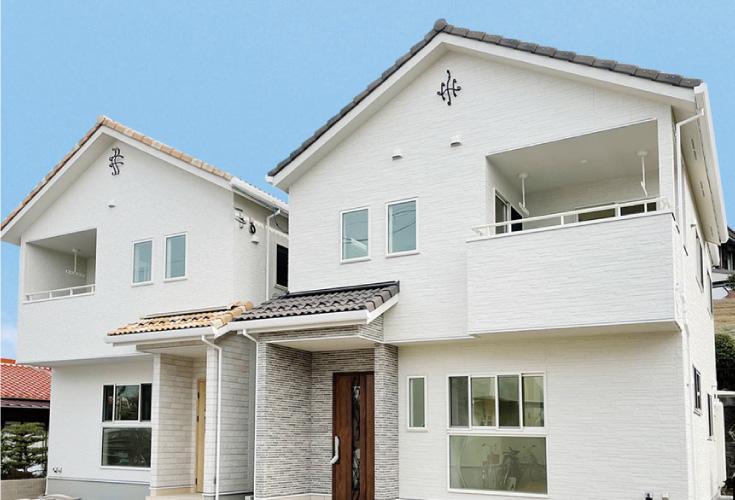 東広島市西条町御薗宇6810新築一戸建て分譲住宅現地外観