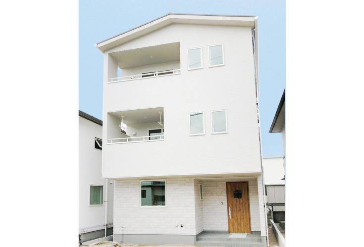 広島市佐伯区八幡東3丁目20新築一戸建て分譲住宅外観写真