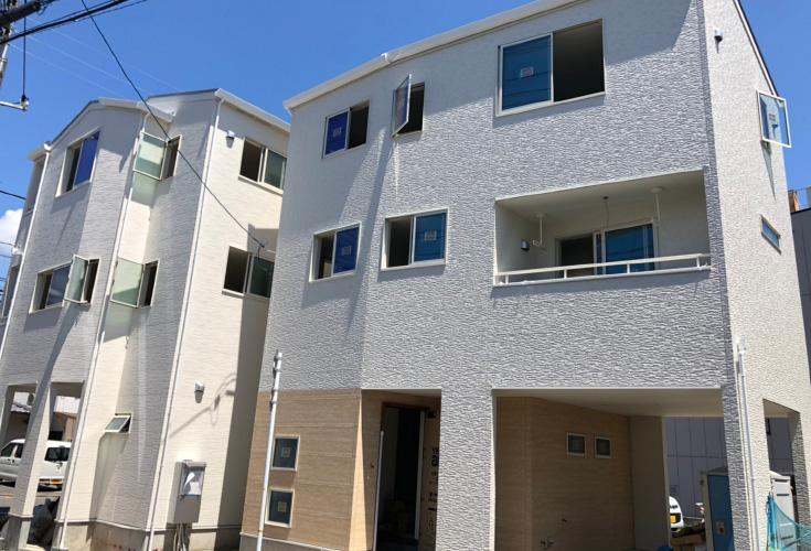 広島市中区舟入南4丁目10【第2現地】新築一戸建て分譲住宅外観