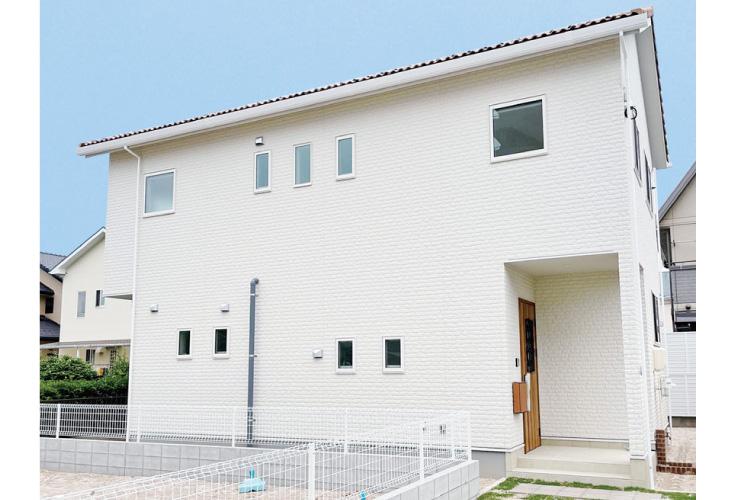 広島市安佐南区川内3丁目18新築一戸建て分譲住宅外観