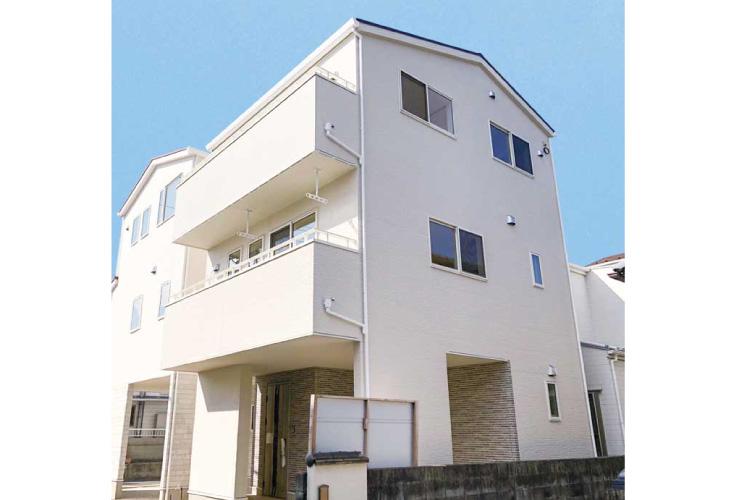 広島市安佐南区祇園7丁目21新築一戸建て分譲住宅外観