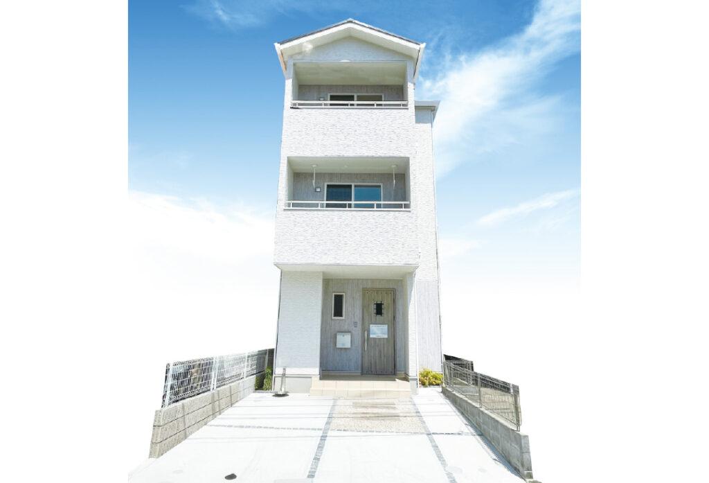 広島市安佐南区高取北3丁目2新築一戸建て分譲住宅外観