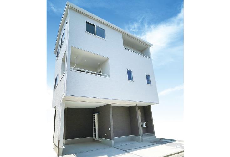 広島市安佐南区長束5丁目30新築一戸建て分譲住宅外観