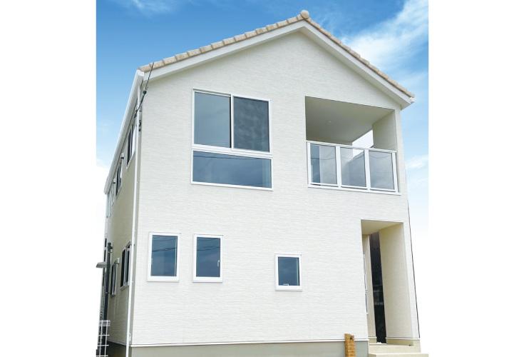 広島市安佐北区倉掛2丁目43新築一戸建て分譲住宅外観