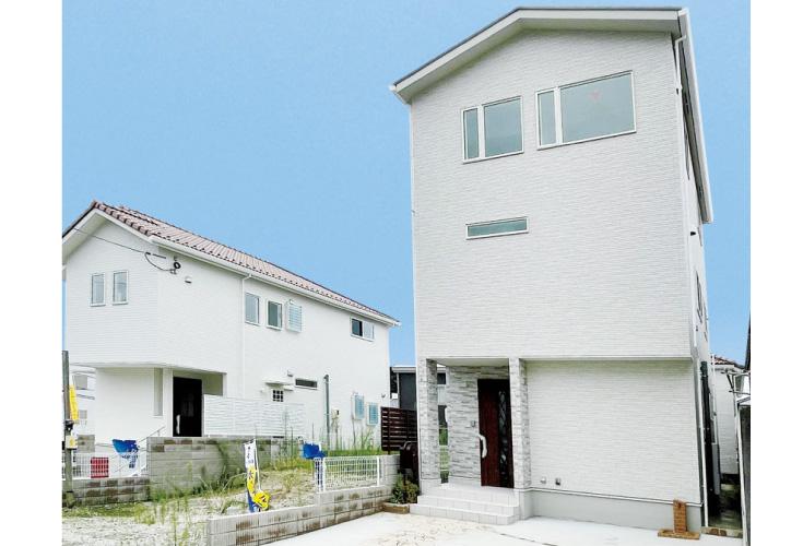 広島市安芸区船越1丁目6新築一戸建て分譲住宅外観