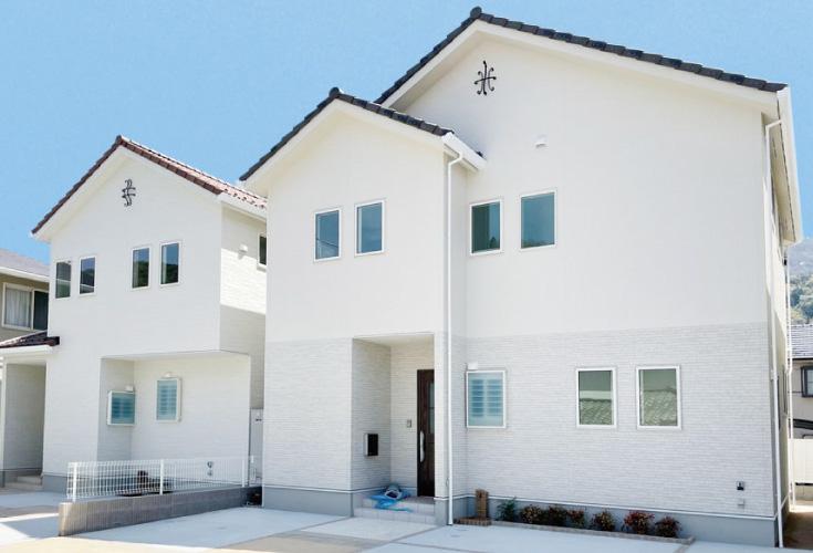 広島市安芸区中野2丁目31新築一戸建て分譲住宅外観