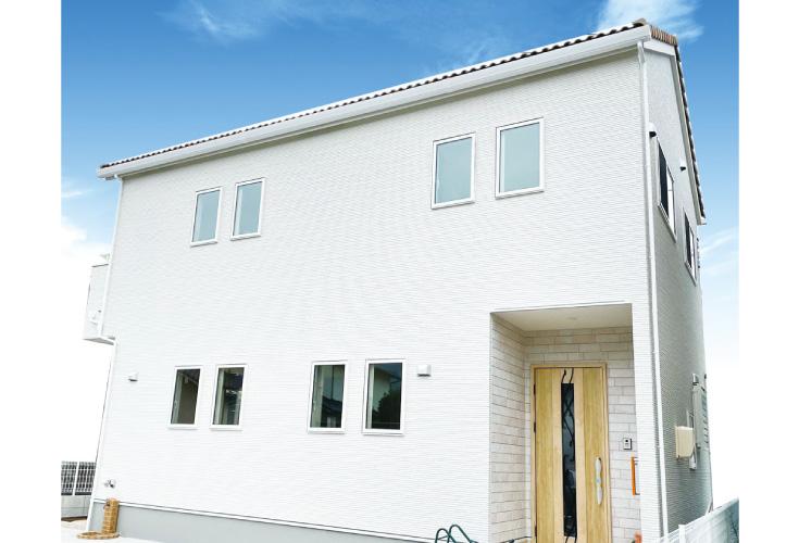 広島市安佐北区可部1丁目5新築一戸建て分譲住宅外観写真