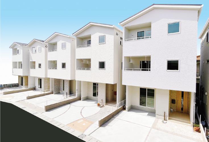 広島市佐伯区美の里2丁目4新築一戸建て分譲住宅外観