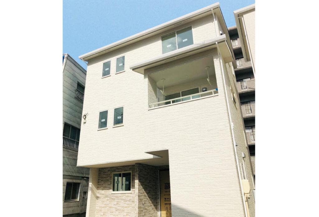 広島市安佐南区川内1丁目28新築一戸建て分譲住宅外観