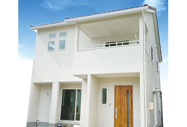 広島市安佐北区三入2丁目14新築一戸建て分譲住宅外観
