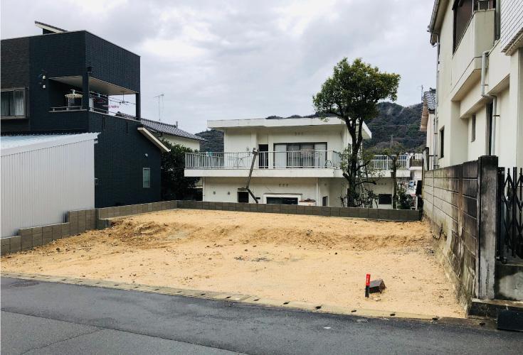 広島市東区戸坂南1丁目16新築一戸建て分譲住宅現地