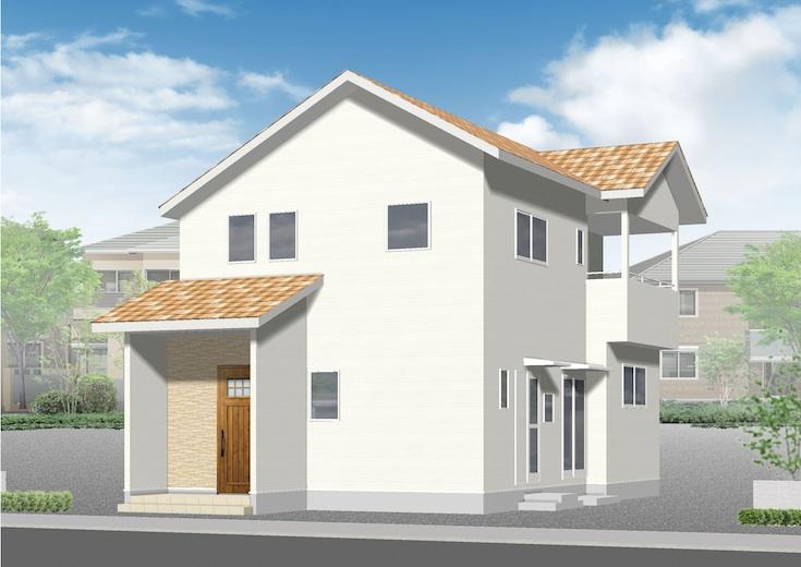広島市東区上温品2丁目29新築一戸建て分譲住宅外観