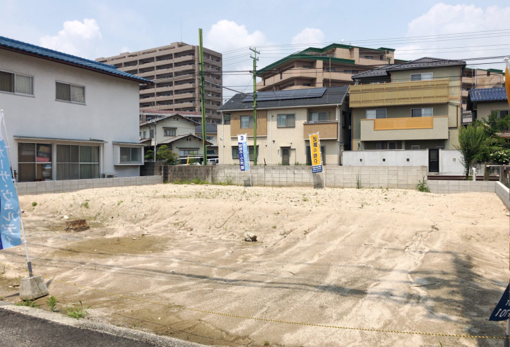 広島県廿日市市大東9新築一戸建て分譲住宅現地