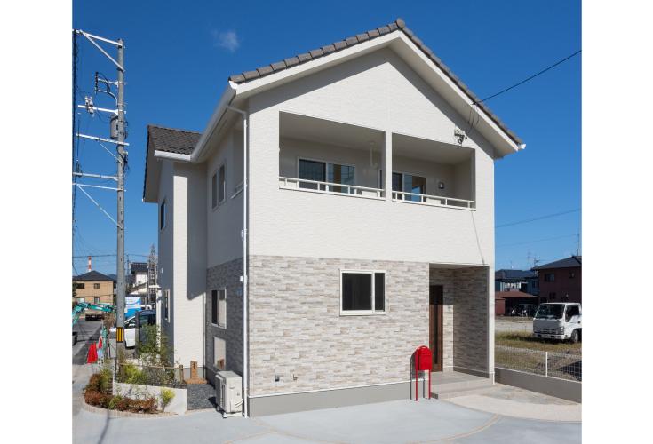 広島県大竹市西栄2丁目10新築一戸建て分譲住宅外観